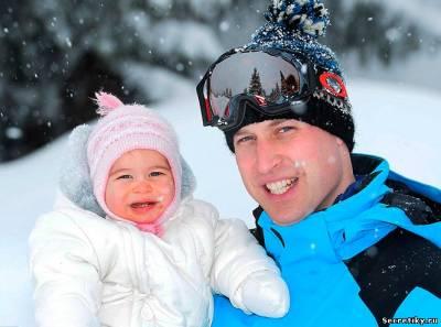 Принц Уильям и его дочурка принцесса Шарлотта